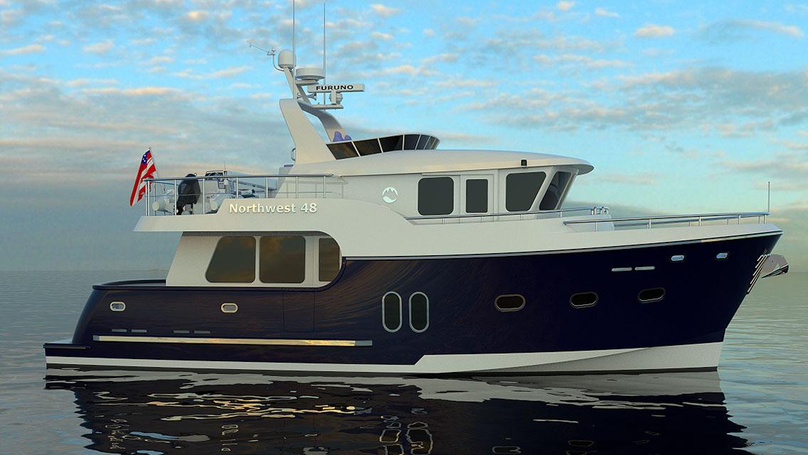 Northwest Yachts 48 Trawler Style Motoryacht