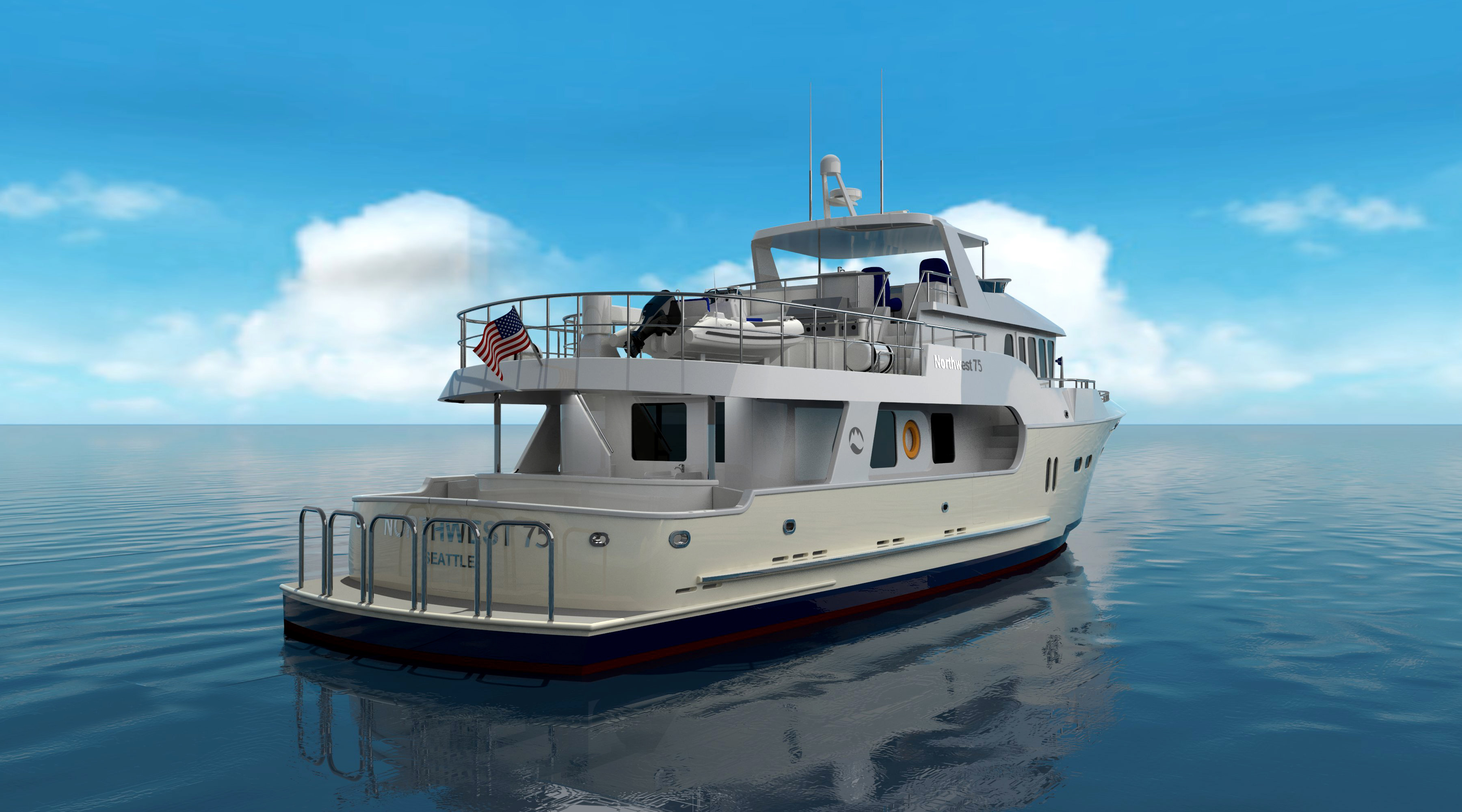 Northwest Trawler Yachts up to 75'